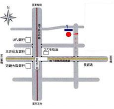 大阪聴力障害者協会 アクセスマップ